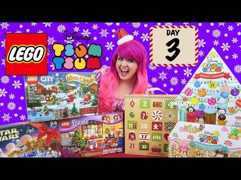 Day 3 - LEGO & Tsum Tsum Advent Calendars 2016 | COUNTDOWN TO CHRISTMAS | KiMMi THE CLOWN