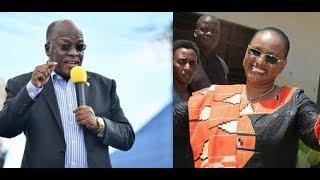 Utacheka : Jibu la Magufuli kwa aliyemuangalia Mkewe