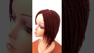 Box-braid Wig (Short Feathers style) RORE101e video
