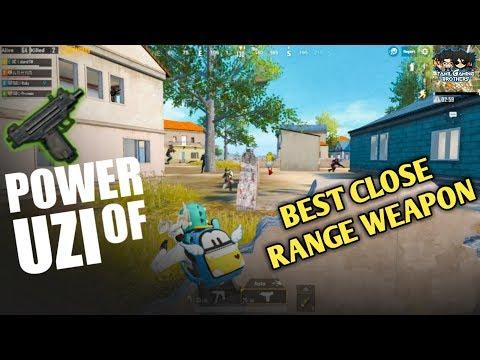 POWER OF UZI | BEST GUN FOR CLOSE RANGE | MUST WATCH | 1 VS 4 CLUTCHES | PUBGMOBILE |