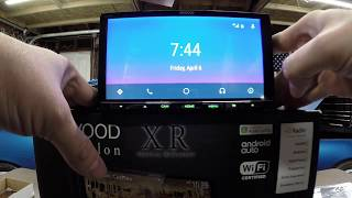 New KENWOOD XR Excelon Reference DDX9905S Un-boxing and Review