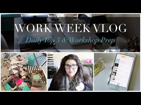 Work Week Vlog #3 | How to Work from Home Full Time Online Effectively in 2016