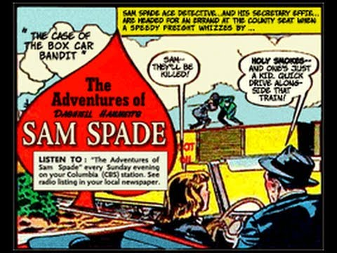 "The Adventures of Sam Spade - ""The Dick Foley Caper"" 09/26/48 (HQ) Old Time Radio Detective"