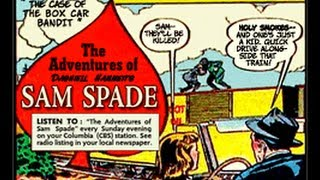 the adventures of sam spade the dick foley caper 092648 hq old time radio detective