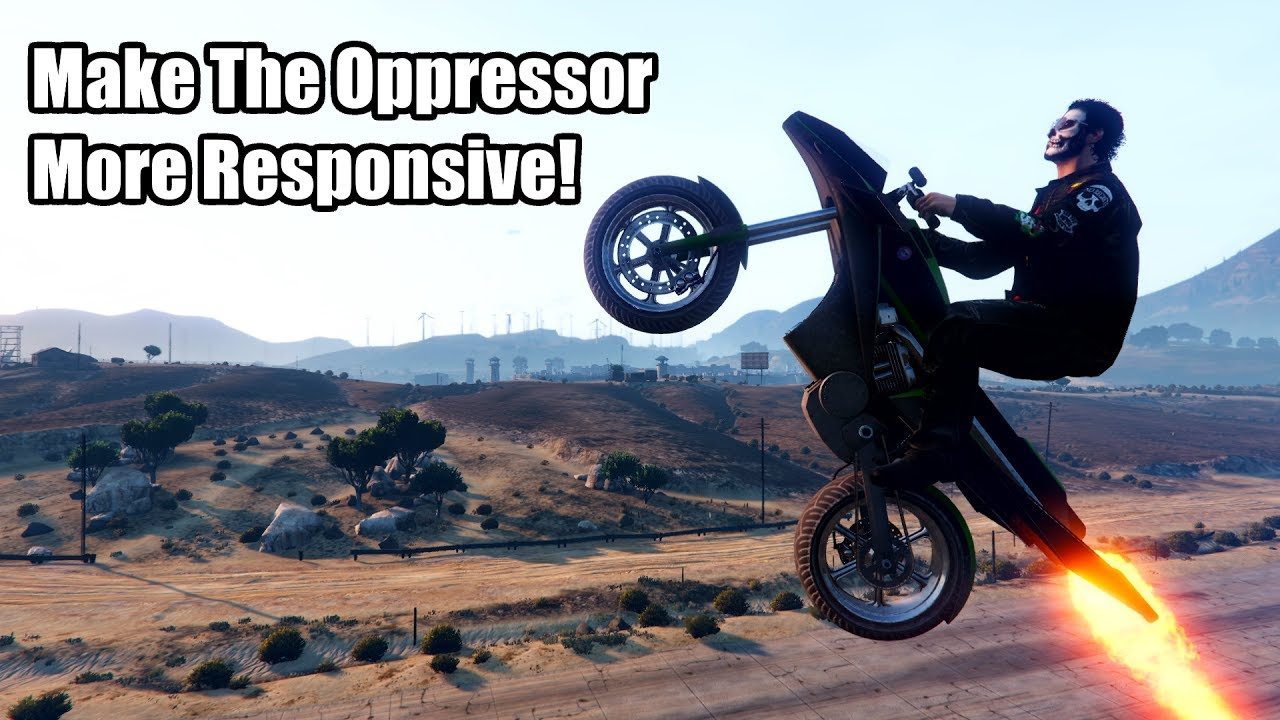 Gta Online How To Make The Oppressor  Flying Bike  More