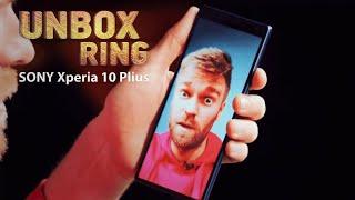AR SONY VIS DAR DALYVAUJA TELEFONŲ KARUOSE???  SONY Xperia 10 Plius   Unbox Ring apžvalga