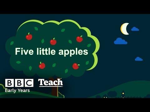 Five little apples  Early Years  Nursery Rhymes