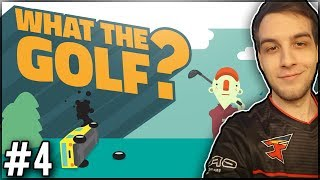 FIRST PERSON GOLF?! -  What The Golf? #4