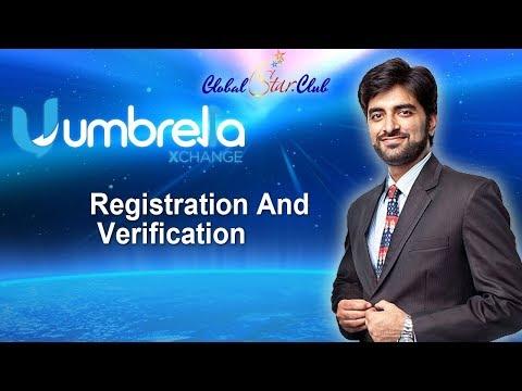 Xchangeumbrella - Registration And Verification