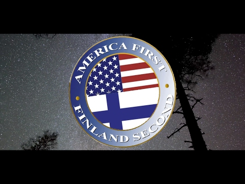 America First but Finland Second! #Everysecondcounts