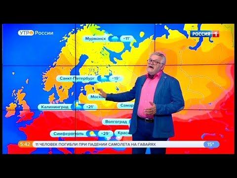 Погода на неделю 24 - 30 июня 2019 года.