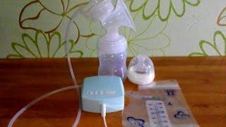 Молокоотсос электрический Miss Baby с алиэкспресс отзывы и видео обзор