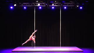 2019 US Pole Dance Championship Professional Division - Joscelyn