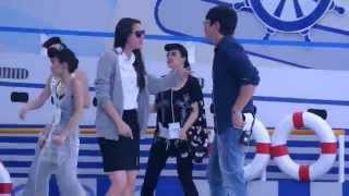 NADECHYAYA - งานเปิด Robinson samutprakan ช่วงซ้อมเพลงOKnaka [31Oct.2014]