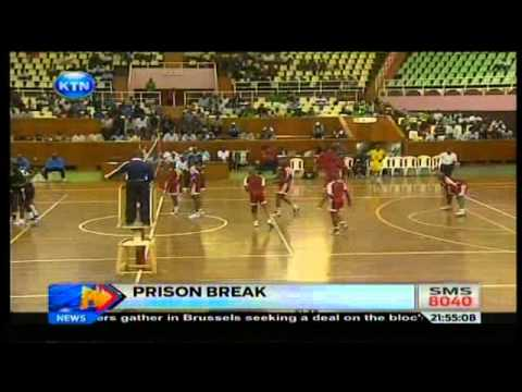News : Kenya prison ratains volleyball title