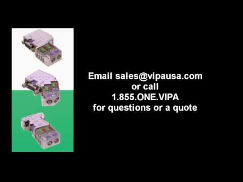 VIPA EasyConn Profibus Connector w// LEDs 45°