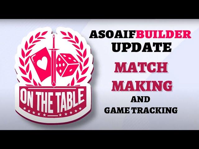 ASOIAFBuilder Site Update