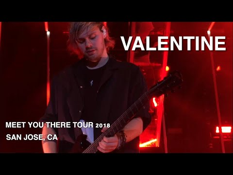 5 Seconds Of Summer - Valentine - Meet You There Tour 2018 -San Jose, CA