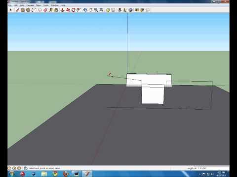 How to make a skatepark on Google sketch up