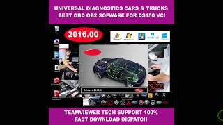 delphi 2016 00 universal car trucks vans diagnostics software for ds150 latest version