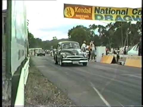 Canberra Drag racing in the 80's part1