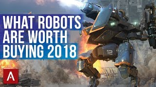War Robots Robots You Should Buy - Robot Guide 2018 | What robots are worth buying?