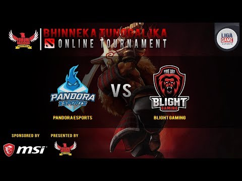 DOTA 2 : Pandora Esports vs Barol Gaming - Grand Final Bhinneka Tunggal Ika