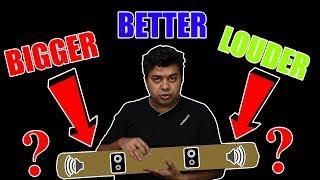 Mi Soundbar, Bigger, Better, Louder - Biggest Gadget We Have Reviewed So Far