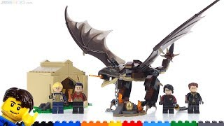 LEGO Harry Potter Hungarian Horntail Triwizard Challenge review! 75946