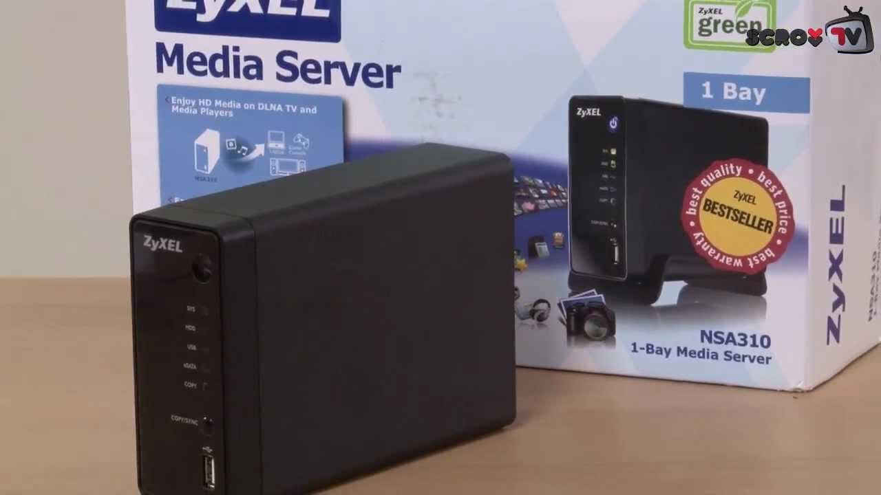 ZyXEL NSA310S Media Server Driver Download