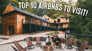Top 10 Airbnbs of 2020! (Tiny Houses, Container Homes, Treehouses!)
