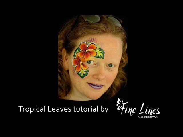 Fine Lines Face And Body Art Youtube