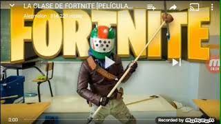 Video reaccion a clase de fortnite