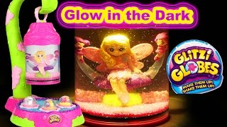 GLITZI GLOBES FAIRY LANTERN Glow in the Dark Light Kids Glitter Toys Mp3