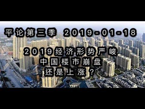 平论Live   2019�济形势严峻,中国楼市崩盘还是上涨?2019-01-18