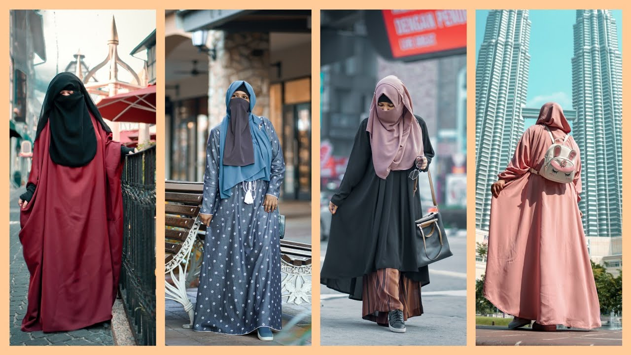 [VIDEO] - Modest Collection- Modest Dress Lookbook | Modest Outfit Ideas for Hijabi Niqabi Sisters | NiqaBee? 1