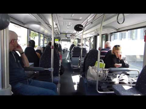 Inside A Liechtenstein Bus Route 12E Between Vaduz And Sargans 25 May 2016