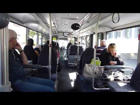 Inside A Liechtenstein Bus Route 12E Between Vaduz And Sargans 25 May 2016