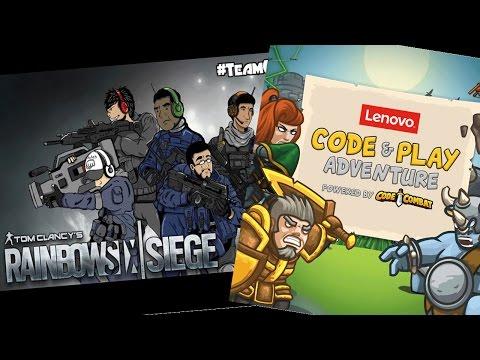 Torneo amateur Rainbow Six Siege y Sorteo Lenovo Code & Play