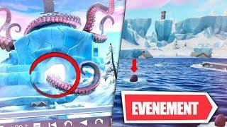 🔴A 17h leaks! Evenement LE MONSTRE MARIN VEUT SORTIR! LIVE INFO FORTNITE FR PS4 PC!