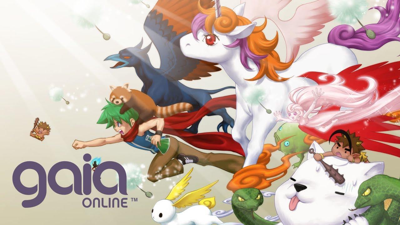 Gaia Online - Free 2 Play Social MMO Trailer