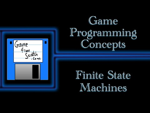 Finite State Machines -- Game Programming Concepts Series