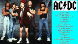 ACDC Greatest Hits playlist    Best Songs Of ACDC playlist (MP4/HD)