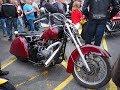Rat Bike -Chopper -Citroen 2cv based hard tail motorcycle ,  walk around