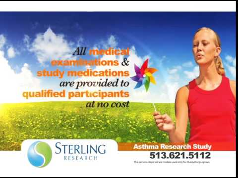 Sterling Research | Cincinnati Clinical Trials | Asthma Study