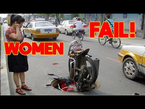 Funny WOMEN FAIL IN TRAFFIC – 💋 Women Drivers NO Skill | Funny Fails  best of 2018 👠 #4