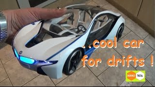 rc bmw i8 vision concept car scale 1 14