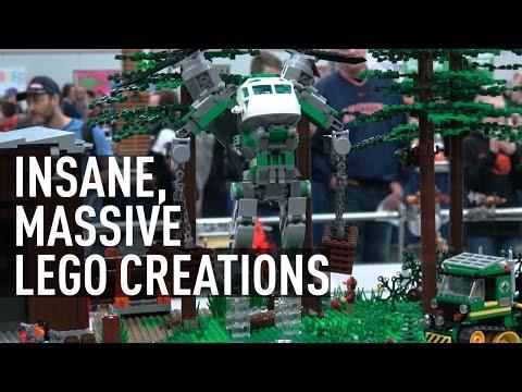 Lego Insanity   Massive Custom Lego Builds   Bricks Cascade 2017