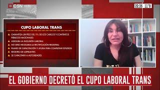 El Gobierno decretó  el Cupo Laboral Travesti Trans en el sector público nacional