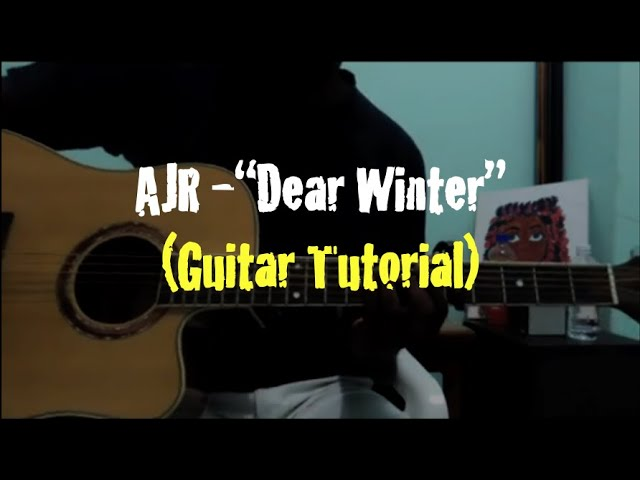 Ajr Dear Winter Guitar Tutorial Youtube Browse all ajr sheet music. ajr dear winter guitar tutorial
